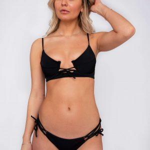 Product image: Ananya Bikini set black front