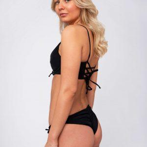 Product image: Ananya Bikini set black side
