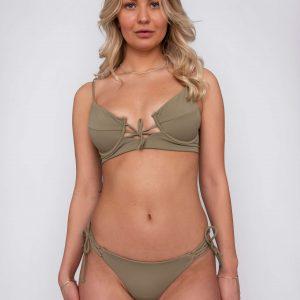Product image: Ananya Bikini set olive front