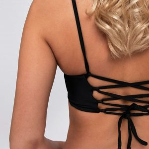 Product image: Ananya Bikini set black back details
