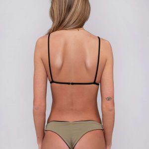 Product image: Devika bikini set olive black back