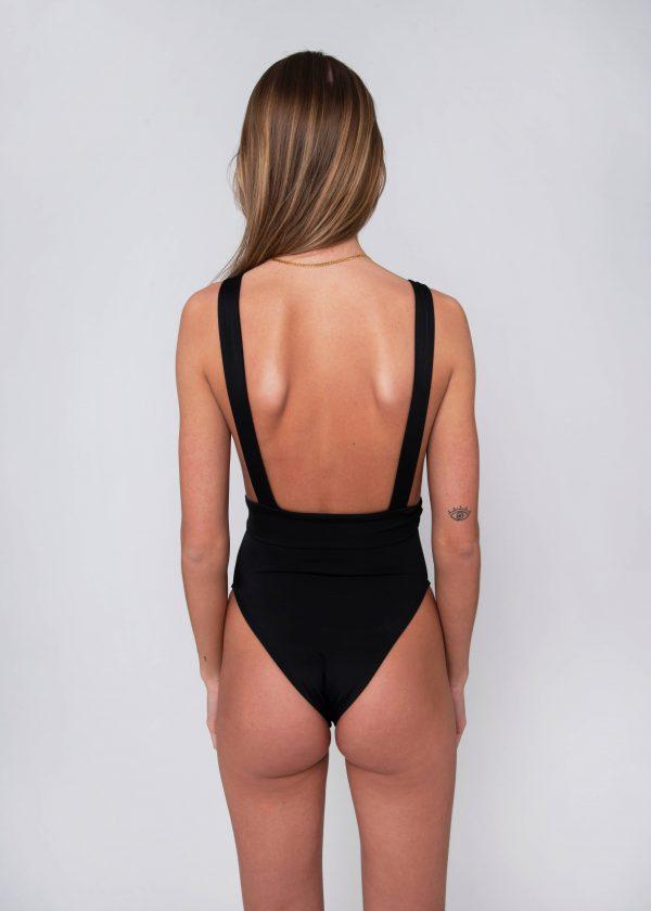 Malika Black Back