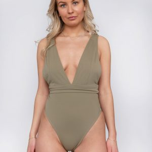 Product image: Malika One-piece Olive Front